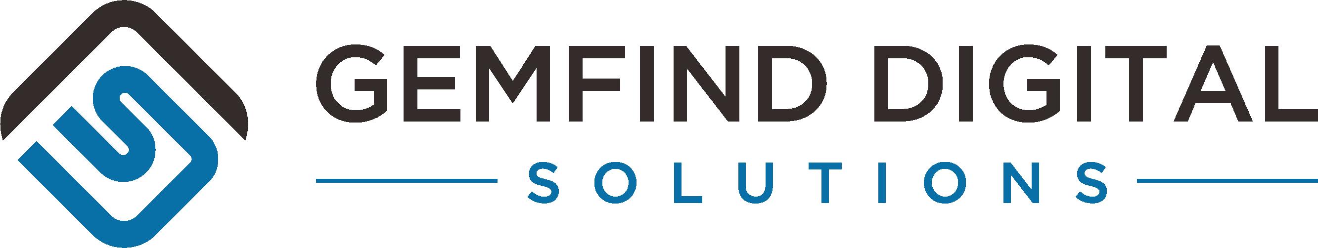 GemFind Digital Solutions - Side ( Two Color )-1